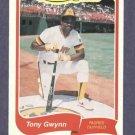 1985 Fleer Limited Edition Tony Gwynn San Diego Padres Oddball