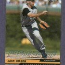 2004 Leaf Press Proof Jack Wilson Pittsburgh Pirates #D 26/75