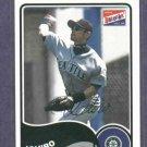 2003 Bazooka Color Ichiro Seattle Mariners