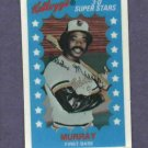 1982 Kelloggs Eddie Murray Baltimore Orioles No Cracks