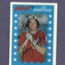 1982 Kelloggs 3D Super Stars Gary Carter Montreal Expos