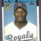 2001 Topps Traded Bo Jackson Rookie Reprint Kansas City Royals