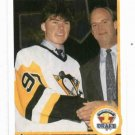 1990 91 Upper Deck Jaromir Jagr Rookie Card Pittsburgh Penguins