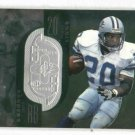 1998 Upper Deck SPX Barry Sanders #D/ 7600 Detroit Lions HOF