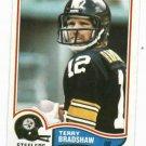 1982 Topps Terry Bradshaw Pittsburgh Steelers