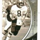 2004 Upper Deck Sweet Spot Archie Manning #d/ 2499 Saints