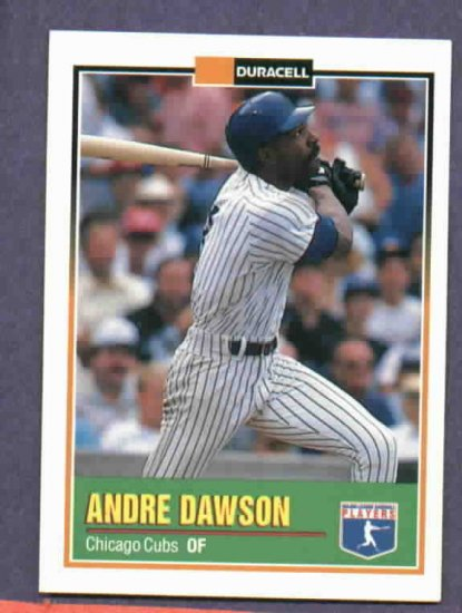 1993 Duracell Andre Dawson Chicago Cubs Oddball