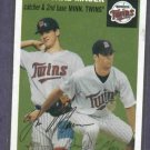 2003 Topps Heritage Joe & Jake Mauer Minnesota Twins