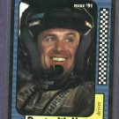 1991 Maxx Rusty Wallace Racing Card #2