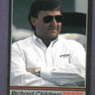 1991 Traks Racing Card Richard Childress # 54