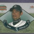2002 Fleer Tradition Diamond Tributes Ichiro Seattle Mariners