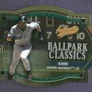 2003 Fleer Authentix Ballpark Classics Ichiro Suzuki Seattle Mariners