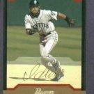 2004 Bowman Gold Ichiro Suzuki Seattle Mariners