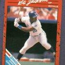 1989 Donruss Grand Slammers Bo Jackson Kansas City Royals Oddball