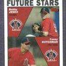 2004 Topps Anaheim Angels Rookies Bobby Jenks Casey Kotchman