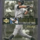 2000 Upper Deck Black Diamond Skills Derek Jeter New York Yankees Insert