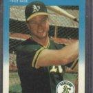 1987 Fleer Update Mark McGwire Rookie Oakland A's Cardinals
