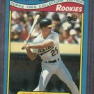 1988 Toys R Us Rookies Mark Mcgwire Baseball Card Oakland A's Cardinals