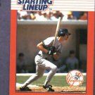 1988 Kenner Starting Lineup Don Mattingly Baseball Card New York Yankees Oddball