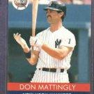 1991 Playball Don Mattingly Oddball Baseball Card New York Yankees