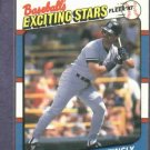 1987 Fleer Exciting Stars Don Mattingly Oddball New York Yankees