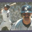 1995 Fleer Flair Don Mattingly New York Yankees
