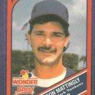 1990 Hostess Stars Don Mattingly Oddball New York Yankees