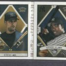 2003 Topps 205 Derek Jeter Alfonsio Soriano Folder New York Yankees