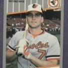 1989 Fleer Bill Ripken Black Box Baltimore Orioles