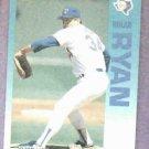 1992 Fleer Performer Collection Nolan Ryan Texas Rangers Citgo 7-11 Oddball
