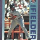 1992 Fleer The Performer Series Cecil Fielder Detroit Tigers Citgo 7-11 Oddball
