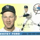 2011 Topps The Lost Cards 60 Years Whitey Ford New York Yankees