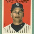 2004 Topps Cracker Jack Alex Rodriguez  New York Yankees No # SP