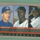 1999 Topps Prospects Alfonso Soriano New York Yankees Rookie