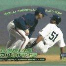 2000 Fleer Ultra Gold Medallion Bernie Williams New York Yankees
