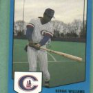 1989 Pro Cards Bernie Williams Columbus Clippers Yankees Rookie