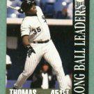 1994 Donruss Long Ball Leaders Frank Thomas Chicago White Sox