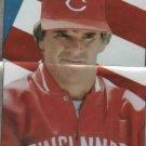 1986 Topps Silver Sticker Pete Rose Cincinnati Reds