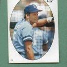 1986 Topps Baseball Star Sticker George Brett Kansas City Royals