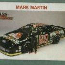 Oddball Racing Champions Mark Martin Card Nascar
