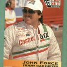 1992 Pro Set John Force NHRA Racing Card