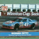 1991 Pro Set Racing Richard Petty Nascar