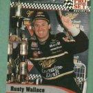 1992 Pro Set Racing Rusty Wallace Nascar