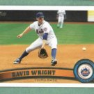2011 Topps David Wright New York Mets