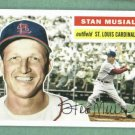 2011 Topps The Lost Cards Stan Musial St Louis Cardinals Insert