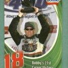 Oddball Blue Bonnet Bobby Labonte Nascar Card