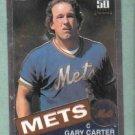 2001 Topps Chrome Traded Reprint Gary Carter New York Mets