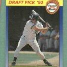 1992 Front Row Draft Pick Jason Giambi Oakland A's Yankees