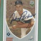 2002 Topps Super Teams Johnny Podres Autograph Los Angeles Dodgers