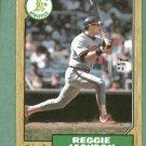 1987 O Pee Chee Reggie Jackson Oakland A's # 300